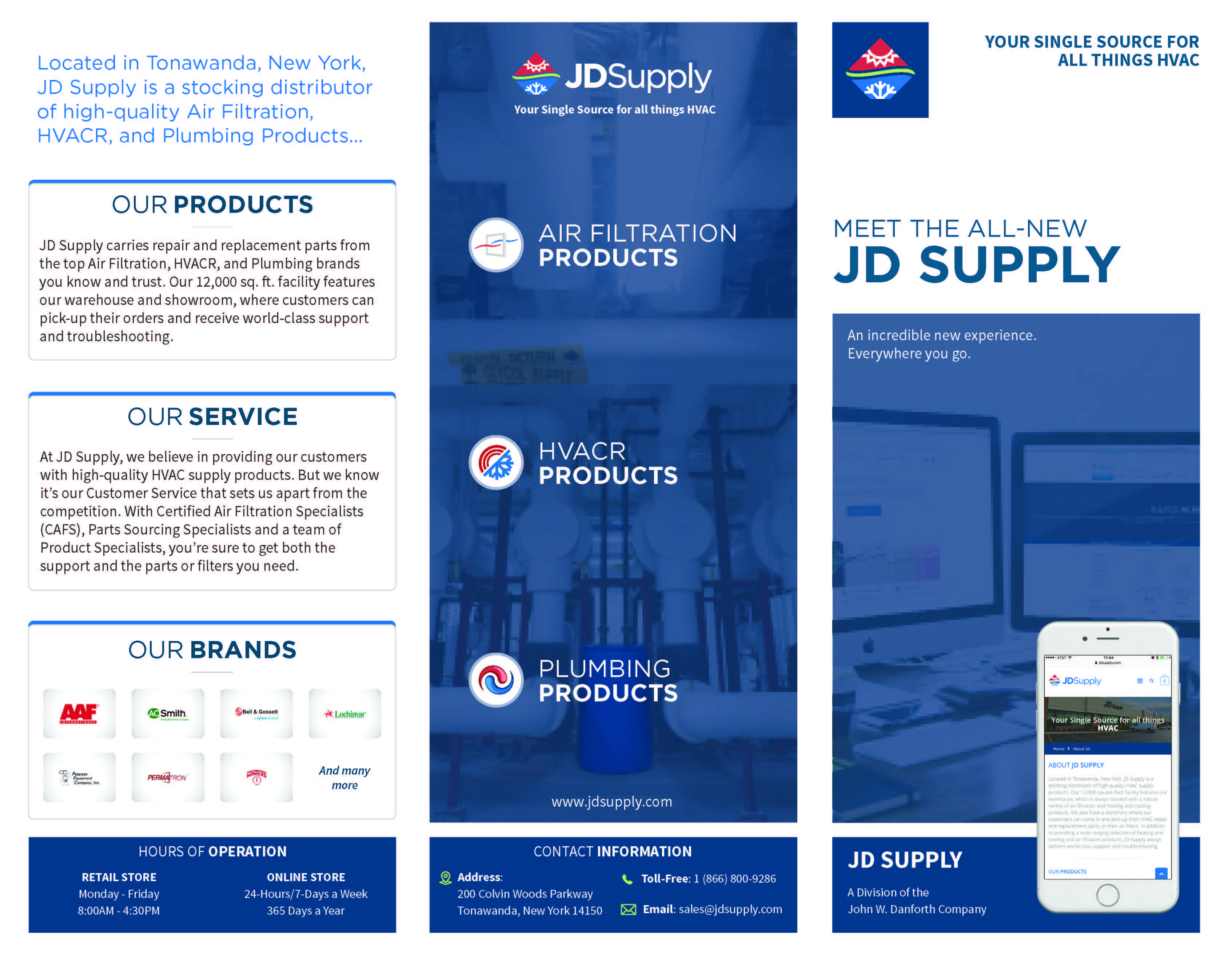JD Supply Line Card