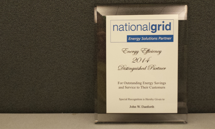 National Grid Award 2014