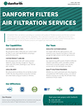 Danforth Filters–Air Filtration Services Line Card (243 KB)